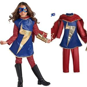 NWT Disney Store Mrs Marvel Girls Costume